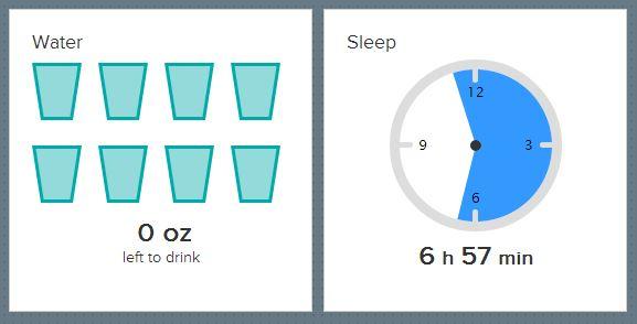water and sleep70714