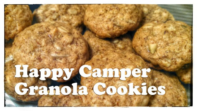 [Recipe] Happy Camper Granola Cookies