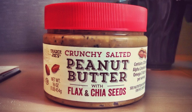 [Review] TJ's Crunchy Salted Peanut Butter w/ Flax & Chia Seeds